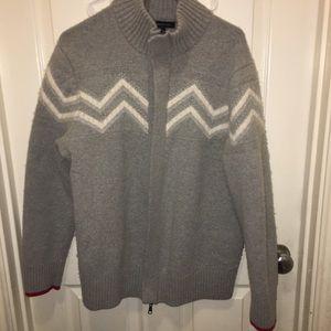 Mens zip up sweater
